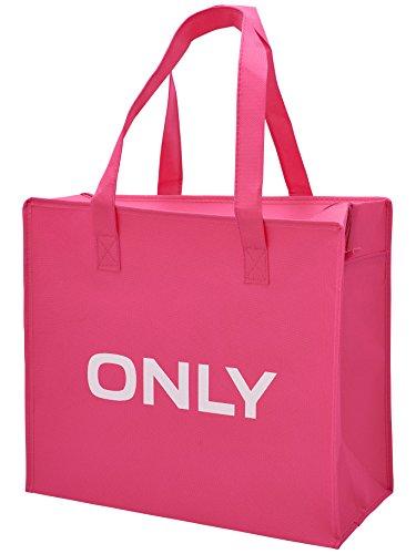 ONLY Tasche Schultertasche Shopper Shopping Bag Fandango Pink