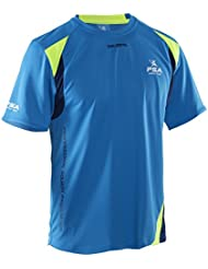 Salming - PSA Game Tee, color azul, talla L