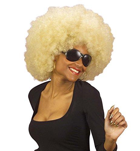 Générique pe532/blond–Perücke Super Afro Blond–Einheitsgröße
