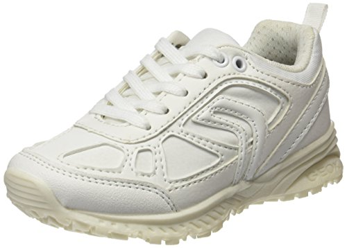 Geox J Bernie E, Zapatillas Para Niños, Blanco (White), 32 EU