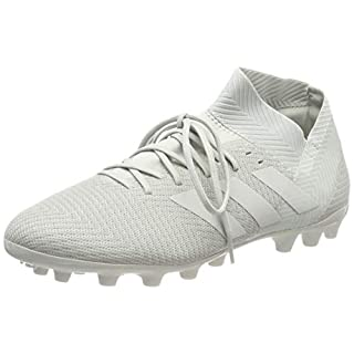adidas Men's Nemeziz 18.3 Ag Footbal Shoes, Grey Ash Silver/White Tint S18, 9 UK