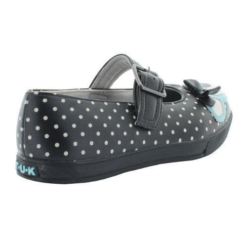 T.U.K. Mary Jane Sneaker DEER PLIMMIES A8293L black-blue 36