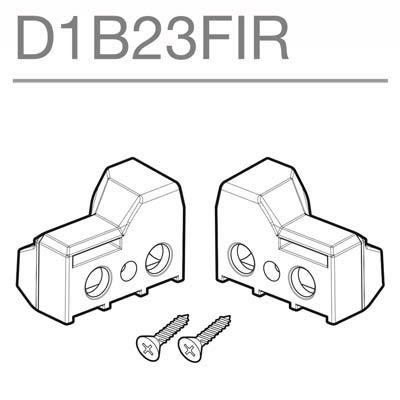 SHAD - D1B23FIR/214 : Recambio soportes maletas laterales