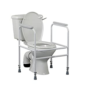 Performance Health 503a Free Standing Toilet Frame (Eligible for VAT relief in the UK)