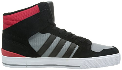HOOPS ST MID M NR - Chaussures Homme Adidas Gris - Grey/Black