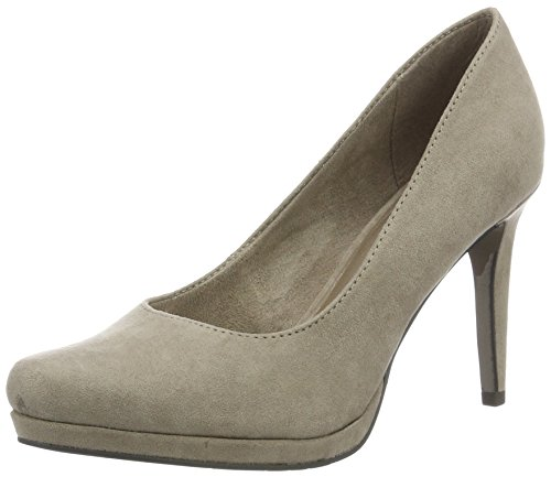 Tamaris Damen 22446 Pumps, Beige (Taupe 341), 36 EU