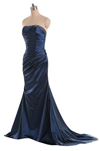 Sunvary -  Vestito  - Donna Blu navy scuro