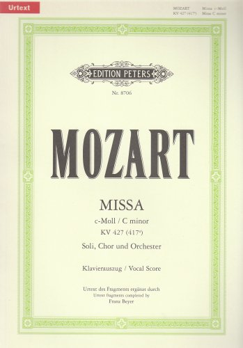 Messe C-Moll Chant