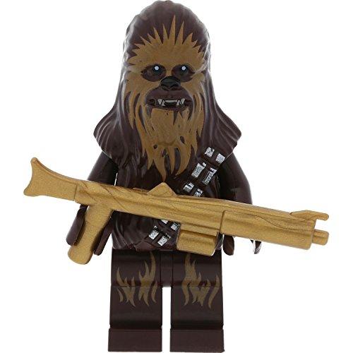 Preisvergleich Produktbild LEGO Star Wars Minifigur Chewbacca aus Set 75174 incl. 1 GALAXYARMS Blaster Waffe