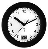 TFA Dostmann 60.3501.01 Funk-Badezimmeruhr mit Temperatur