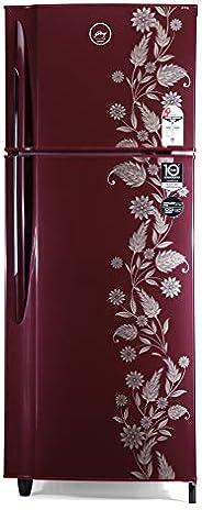 Godrej 236 L 2 Star Inverter Frost-Free Double Door Refrigerator (RF EON 236B 25 HI SC DR, Scarlet Dremin)