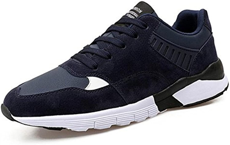 Zapatos de Hombre Artificial PU/Suede Sneakers Otoño/Invierno Comfort Athletic Shoes Mens Casual Ciclismo Zapatos...