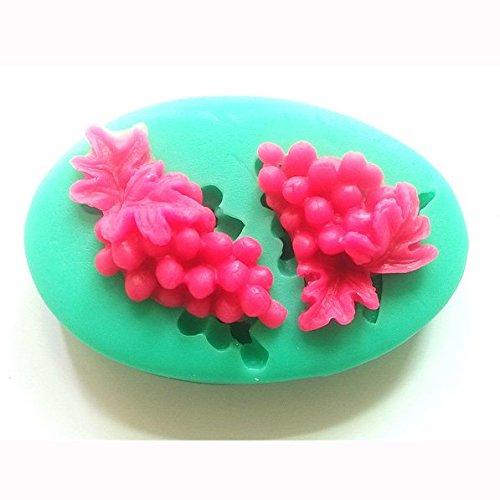 Bluelover Uva forme del fondente della muffa muffa del silicone mestiere dello zucchero Cake Decorating fai da te