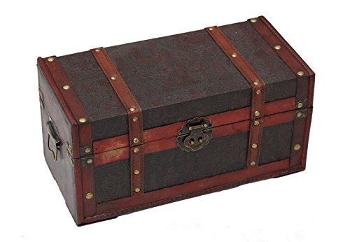 Genérico * Caja de Almacenamiento de Madera con patrón Egipcio para Almacenamiento de Maletero, diseño de Corredor