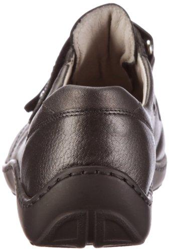 Waldläufer Henni 496301 Ama172 014, Chaussures à lacets femme Gris-TR-E1-392