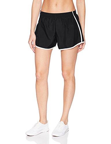 Augusta Sportswear Damen Junior Fit Pulse Team Kurz Größe L Schwarz/Schwarz/Weiß - Augusta Sportswear Mesh Shorts