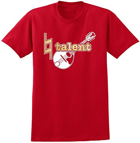 Mandolin Natural Talent - Red Rot T Shirt Größe 87cm 36in Small MusicaliTee