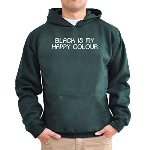 Felpe con cappuccio Black is my happy colour