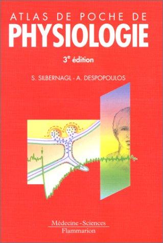Atlas de poche de Physiologie, 3e édition par Stephan Silbernagl