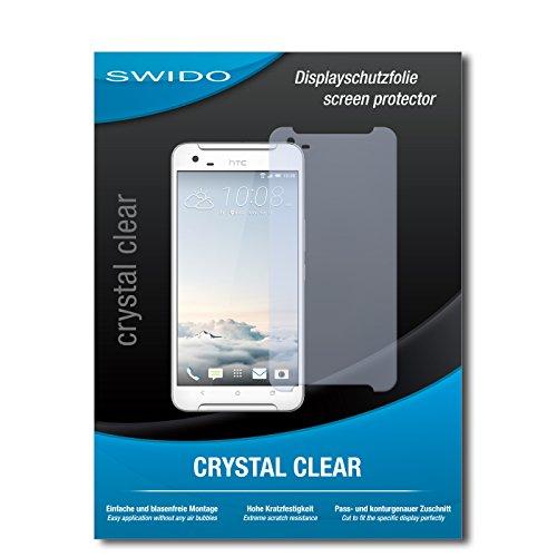 SWIDO Bildschirmschutz für HTC One X9 [4 Stück] Kristall-Klar, Hoher Härtegrad, Schutz vor Öl, Staub & Kratzer/Schutzfolie, Bildschirmschutzfolie, Panzerglas Folie