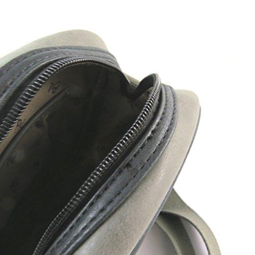 Bolsa de hombro 'Pepe Jeans'de la vendimia gris - 25x20x6 cm.