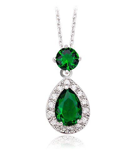 teardrop-pendant-necklaces-sterling-silver-emerald-swarovski-elements-crystal-cz-diamond-for-women