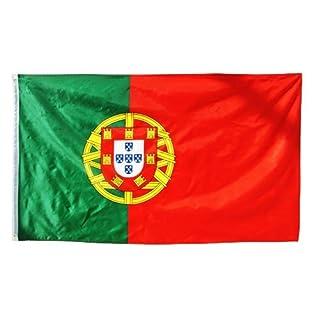 Länder Fahne 90 x 150 cm Abasonic® (Portugal)