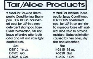 Artikelbild: Kenic Pet Care Products 150-03510 Kenic Medi-Tar Tar Aloe Shampoo 17 Unzen