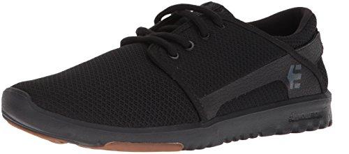 Etnies Herren Scout Sneaker, Schwarz (544-black/black/gum), 44 EU(9.5 UK)