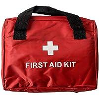 Kit de primeros auxilios, kit de medicina, apto para el hogar, oficina, coche, caravana, lugar de trabajo, viajes.