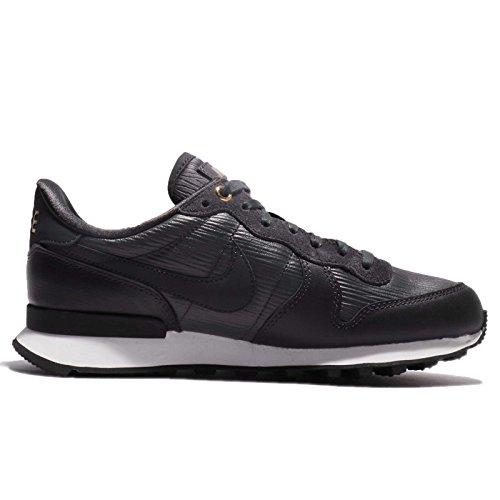 Nike Damen W Internationalist Premium Sneaker Schwarz (Anthracite/blanc Sommet/noir/anthracite 012)