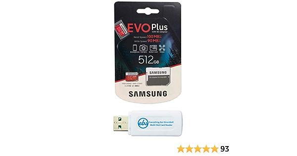 Samsung 512 Gb Micro Sdxc Evo Plus Speicherkarte Für Computers Accessories