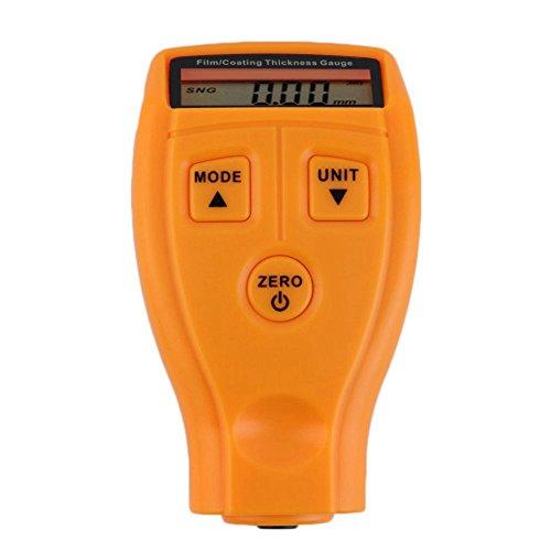 SODIAL GM200 LCD Digital Autolack Schichtdicke Sonde Tester Messgeraet Meter Messwerkzeug (Tester Thickness Paint)
