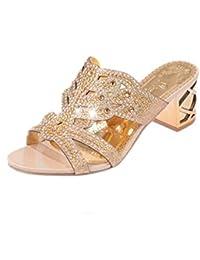 Amazon.it  sandali gioiello - Rosa  Scarpe e borse 2c324b34c4d