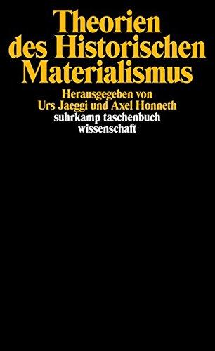 Theorien des Historischen Materialismus (suhrkamp taschenbuch wissenschaft)