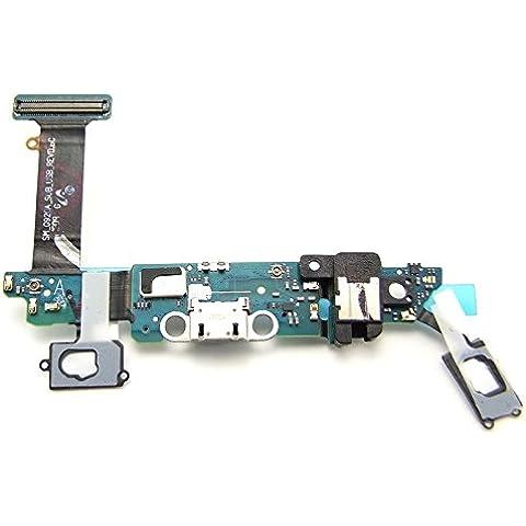 Goliton carga conector de puerto para Samsung Galaxy S6 reemplazo de cable flexible (G920A)