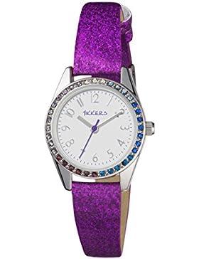 Tikkers Mädchen-Armbanduhr TK012