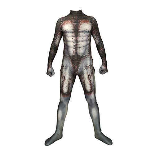 Mädchen Kostüm Predator - Lbellay Predator Cosplay Siamesische Strumpfhose Halloween Anzug Kostüm Cosplay Rollenspielanzug Karneval Party Requisiten,Child-XS