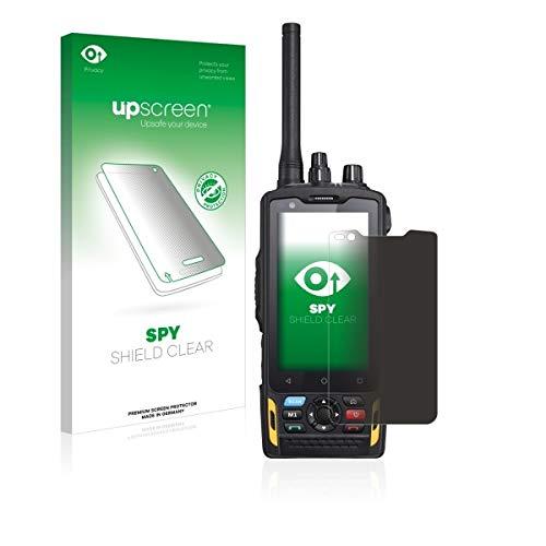 upscreen Spy Shield Clear Blickschutzfolie/Privacy für Ruggear RG760 (Sichtschutz ab 30°, Kratzschutz, selbstklebend)
