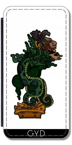 Coque pour Iphone SE - Dieu Serpent Mayan by Adamzworld Simili-Cuir