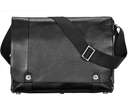 Filofax Architect Courier Bag Black -