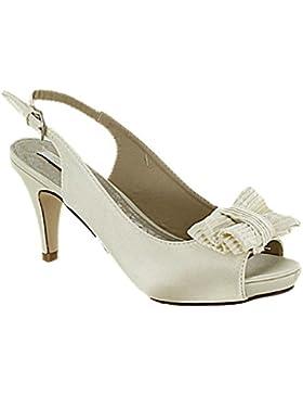 Sandali da donna con fiocco pe