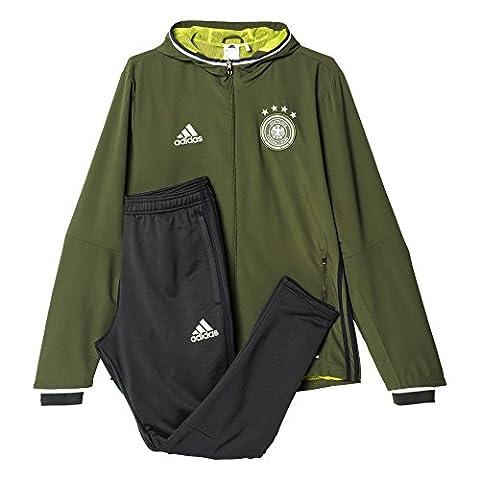 adidas Herren UEFA EURO 2016 DFB Präsentationsanzug, grün, 2XL,