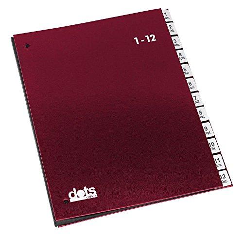 dots 44198-01 Dots Pultordner 1-12 rot