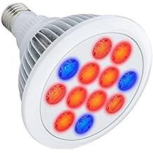 Mondpalast@ 12W E27 LED Pianta Crescere Lampada Fiore Coltiva Lampada