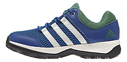 adidas Daroga Plus, Chaussures de Trekking et Randonn&EacuteE Mixte Enfant Bleu - Blau (Eqt Blue S16/Chalk White/Blanch Green S16-St)