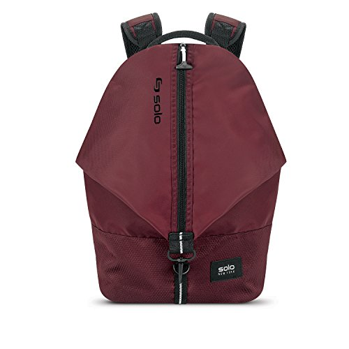 Solo Peak Backpack, Burgundy