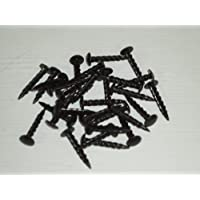 30 x 20mm BLACK SCREW NAILS FOR POOL POCKET LINERS (S224)** by SGL