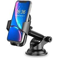 Cocoda Supporto Smartphone per Auto, Cruscotto/Parabrezza Porta Cellulare da Auto, 360° di Rotazione Braccio Estensibile…
