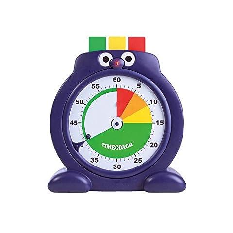 Der Timecoach XL, die intelligente Zeituhr Lernuhr Stoppuhr für Kinder Eltern Lehrer Schule, der Lernfaktor und Spaßfaktor ist sehr groß, Uhr, Zeit, Lernen, Fördern, Durchmesser 26cm, Neu (Countdown Zu Weihnachten-aktivität Ideen)